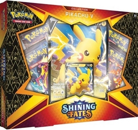Pokemon kort - Shining Fates - Pikachu V Box