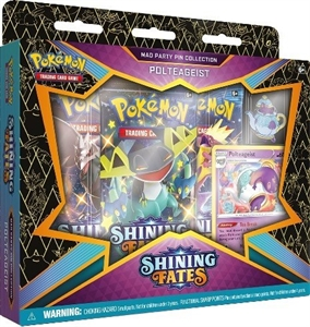 Pokemon kort - Shining Fates - Mad Party Pin Collection Polteageist