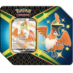 Pokemon kort - Shining Fates - V Tin Shiny Cramorant