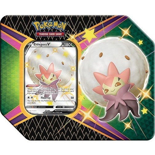 Pokemon kort - Shining Fates - V Tin Shiny Eldegoss