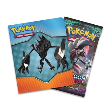 Pokemon kort - Sun and Moon 3 Burning Shadows - Booster Pack og Mini Collector's Album (plads til 60 kort)