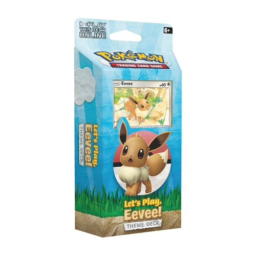 Pokemon kort Eevee Theme Deck