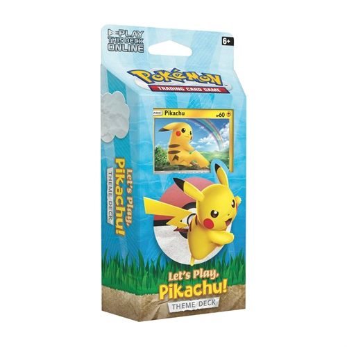 Pokemon kort Pikachu Theme Deck