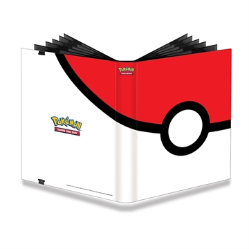 Pokemon kort Tilbehør - 9-Pocket PRO-Binder Pokeball - Samle mappe