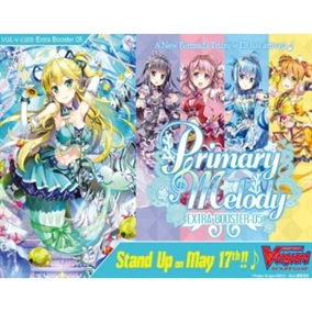 Primary Melody Extra -  Booster Pakke - Cardfigth!!! Vanguard V