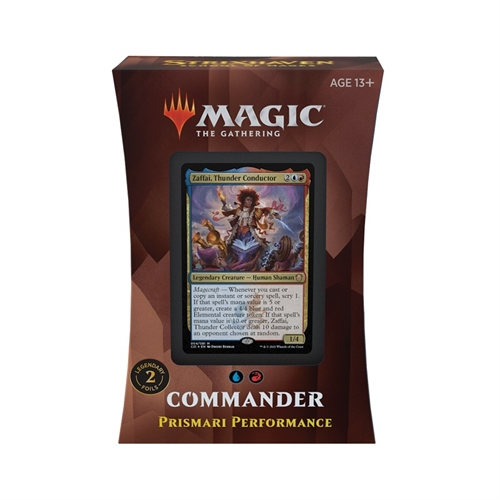 Commander deck - Prismari Performance - Strixhaven School of Mages - Magic The Gathering