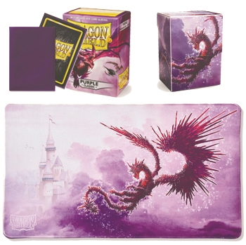 Dragon Shield Bundle - PURPLE