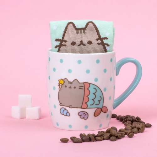 Pusheen - Sock in a Mug Mermaid - Krus