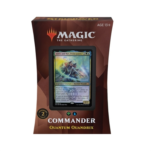 Commander deck - Quantum Quandrix - Strixhaven School of Mages - Magic The Gathering