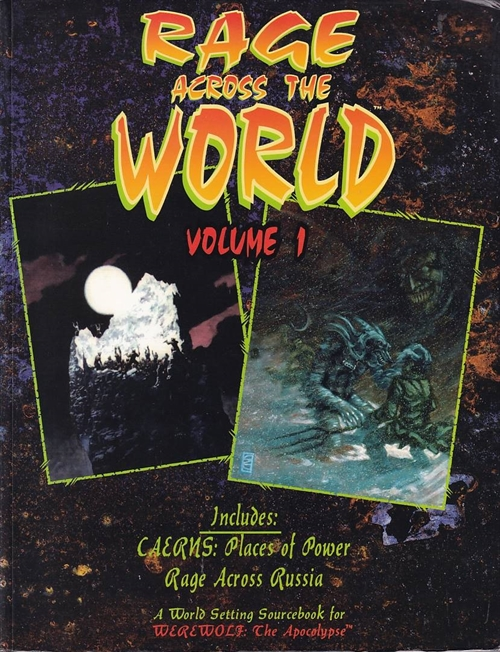 Werewolf the Apocalypse - Rage Across The World - Vol 1 (B-Grade) (Genbrug)