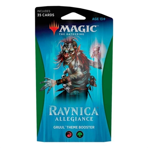 Ravnica Allegiance - Theme Booster Gruul (Rød-Grøn) - Magic the Gathering