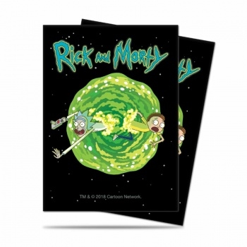 Rick and Morty V3 - kortspilslommer (65 Standard Sleeves)
