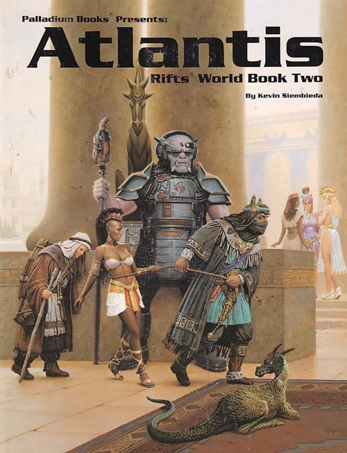 Rifts - World Book 2 - Atlantis (Genbrug)