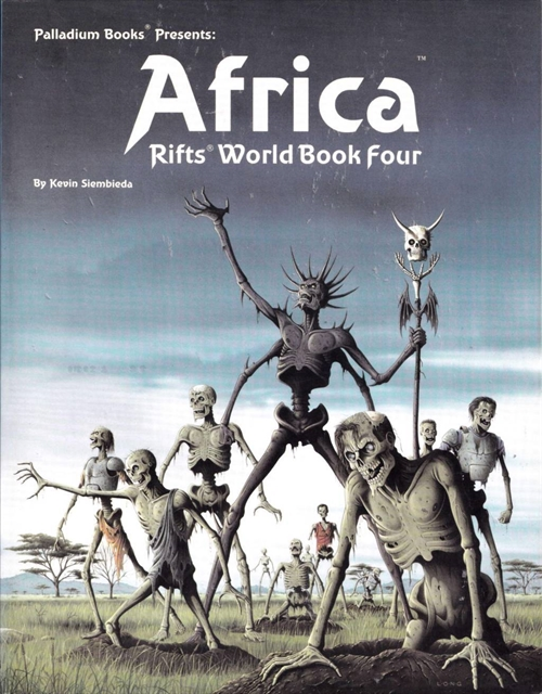 Rifts - World Book 4 - Africa (Genbrug)