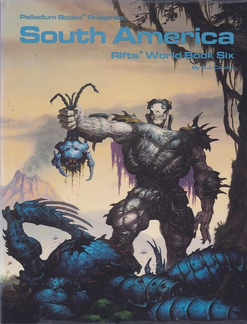 Rifts - World Book 6 - South America (B-Grade) (Genbrug)