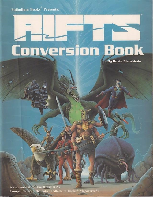 RiftsPalladium - Conversion Book (Genbrug)