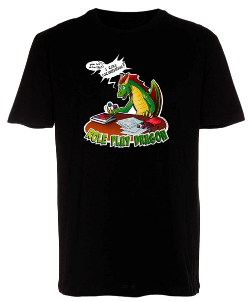 Role Play Dragon - Lazy Dragon T-shirt