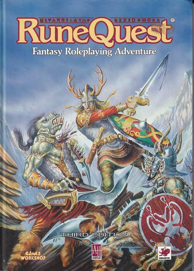 RuneQuest - Third Edition (B-Grade) (Genbrug)