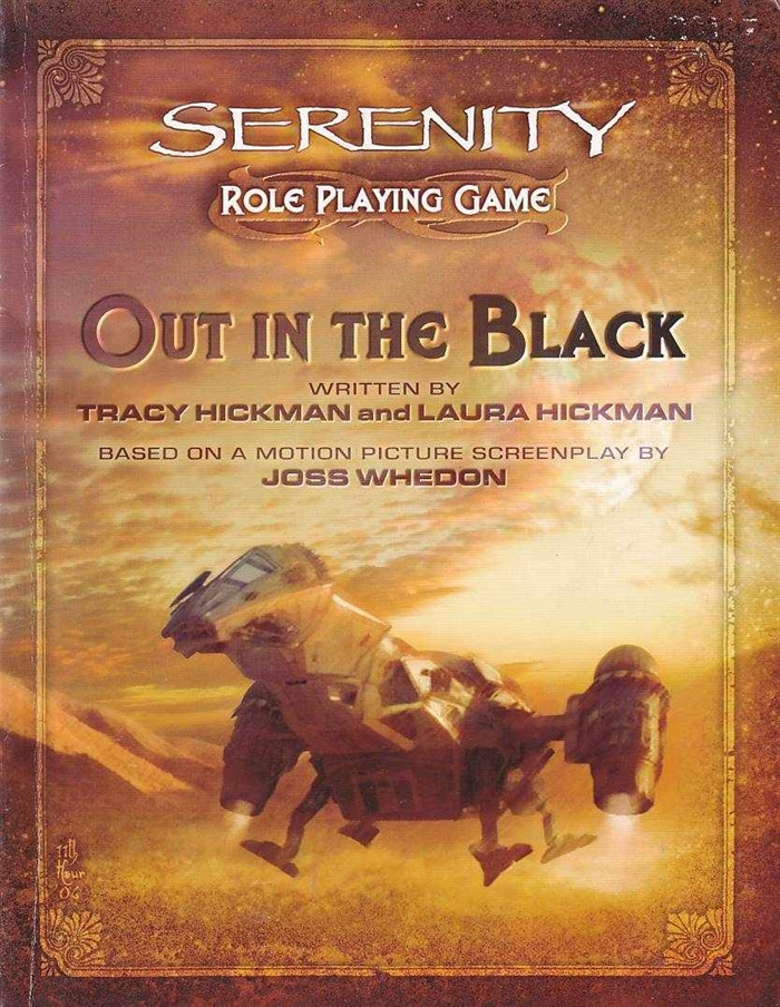 Serenity Role Playing Game - Out in the Black (B-Grade) (Genbrug)
