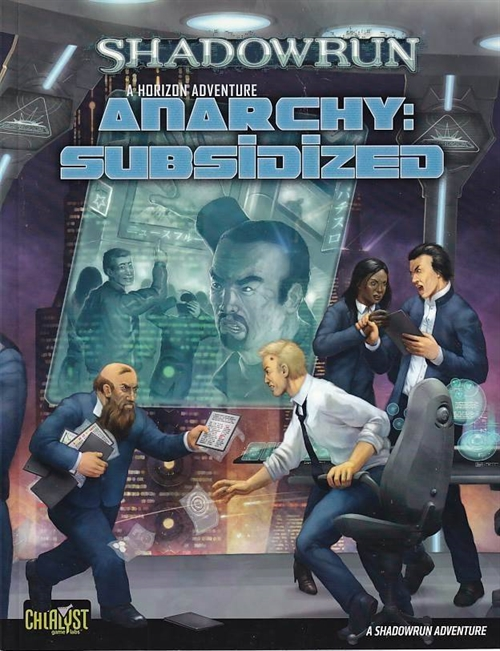 Shadowrun 20th Anniversary a horizon Adventure Anarchy Subsidezed (Genbrug)