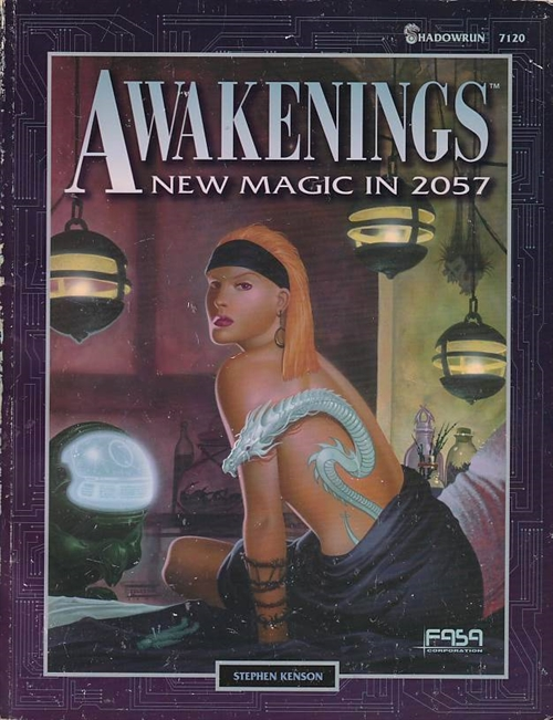 Shadowrun 2nd - Awakenings New Magic in 2057 (B-Grade) (Genbrug)