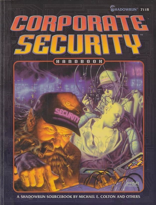 Shadowrun 2nd - Corporate Security Handbook (B-Grade) (Genbrug)