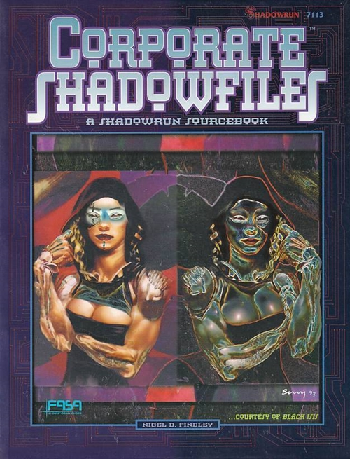 Shadowrun 2nd - Corporate Shadowfiles (B-Grade) (Genbrug)