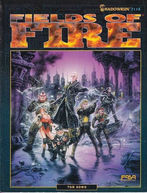 Shadowrun 2nd - Fields of Fire (B-Grade) (Genbrug)