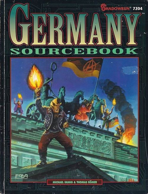 Shadowrun 2nd - Germany Sourcebook (B-Grade) (Genbrug)