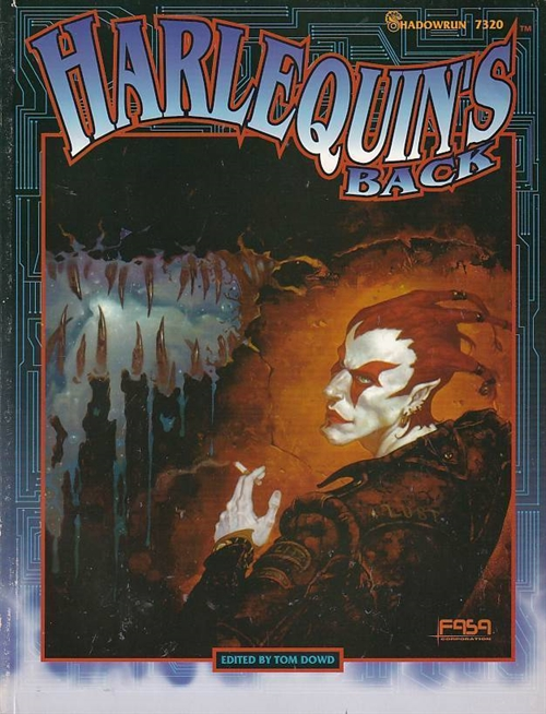 Shadowrun 2nd - Harlequins Back (B-Grade) (Genbrug)