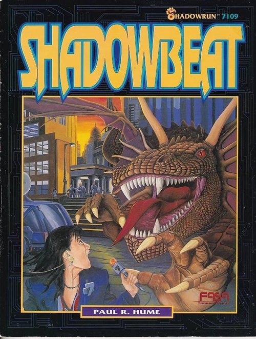 Shadowrun 2nd - Shadowbeat (B-Grade) (Genbrug)