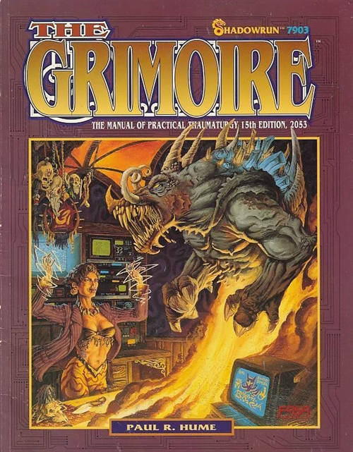 Shadowrun 2nd - The Grimoire 2nd (B-Grade) (Genbrug)
