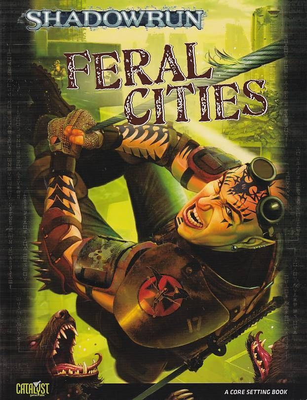 Shadowrun 4th Feral Cities (Genbrug)