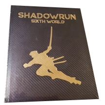 Shadowrun 6th - Sixth World Core Rulebook - Limited edition