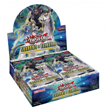 Shadows in Valhalla - Booster Box Display (24 Booster Pakker) Yu-Gi-Oh kort