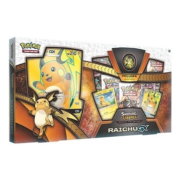 Shining Legends Special Collection - Raichu-GX - Pokemon kort