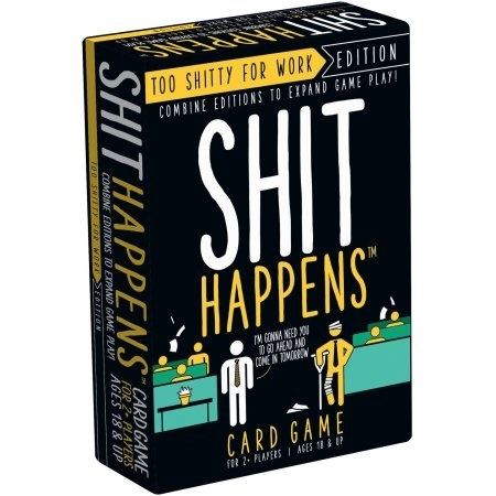 Shit Happens - 50 Shades of Shit - Party Game