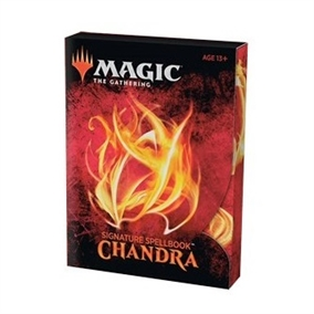 Signature Spellbook - Chandra- Magic the Gathering