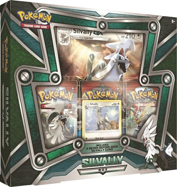 Silvally Box - Pokemon kort