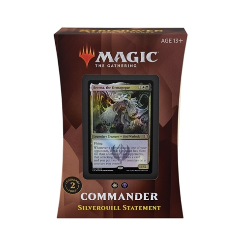 Commander deck - Silverquill Statement - Strixhaven School of Mages - Magic The Gathering