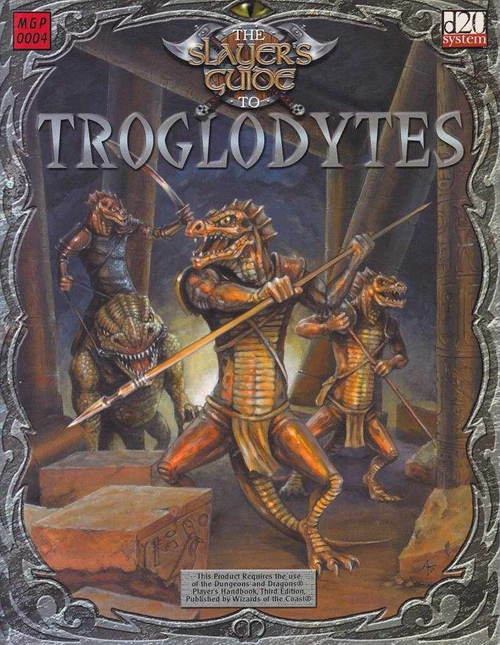 D&D 3.0 - The Slayers Guide to - Troglodytes (B-Grade) (Genbrug)