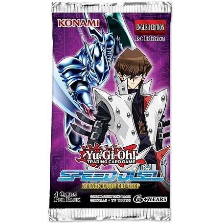 Speed Duel 2 Attack from the Deep - Booster Pakke - Yu-Gi-Oh kort