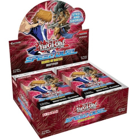 Speed Duel Scars of Battle - Booster Box Display (36 Booster Pakker) - Yu-Gi-Oh kort