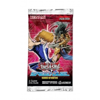 Speed Duel Scars of Battle - Booster Pakke - Yu-Gi-Oh kort