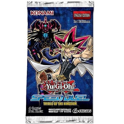 Speed Duel Trial of the Kingdoms - Booster Pakke - yu-gi-oh kort
