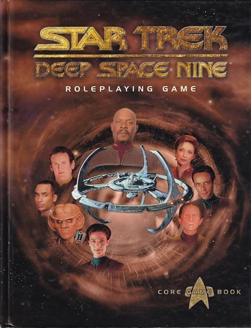 Star Trek - Deep Space Nine Roleplaying Game (Genbrug)