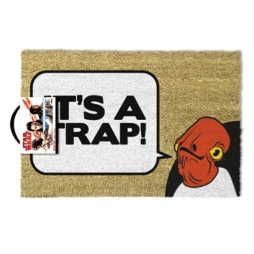Star Wars - Admiral Ackbar It's A Trap - Grovmåtte 40X60cm