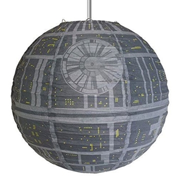 Star Wars - Death Star lys-skygge - Rispapirlampe