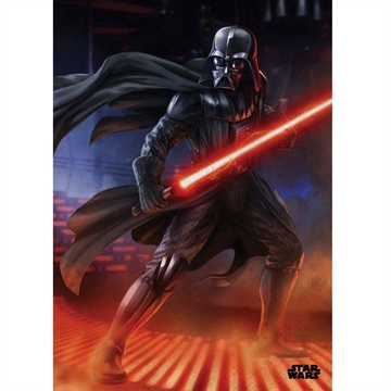 Star Wars - Episode 4 Darth Vader  - 32 x 45 cm Metal Skilt