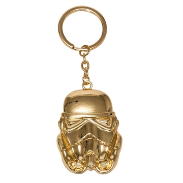 Star Wars - Golden Stormtrooper - Metal Nøglering